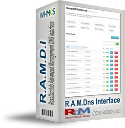 R.A.M.D.I - ResellerClub Advanced Management DNS Interface