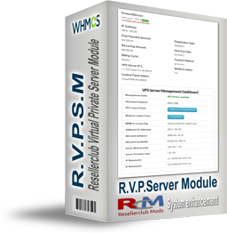 RVPSM - Resellerclub Virtual Private Server Module