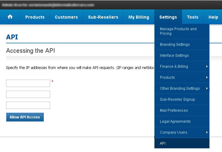 Knowledgebase Where I have to whitelist my Hosting Server IP