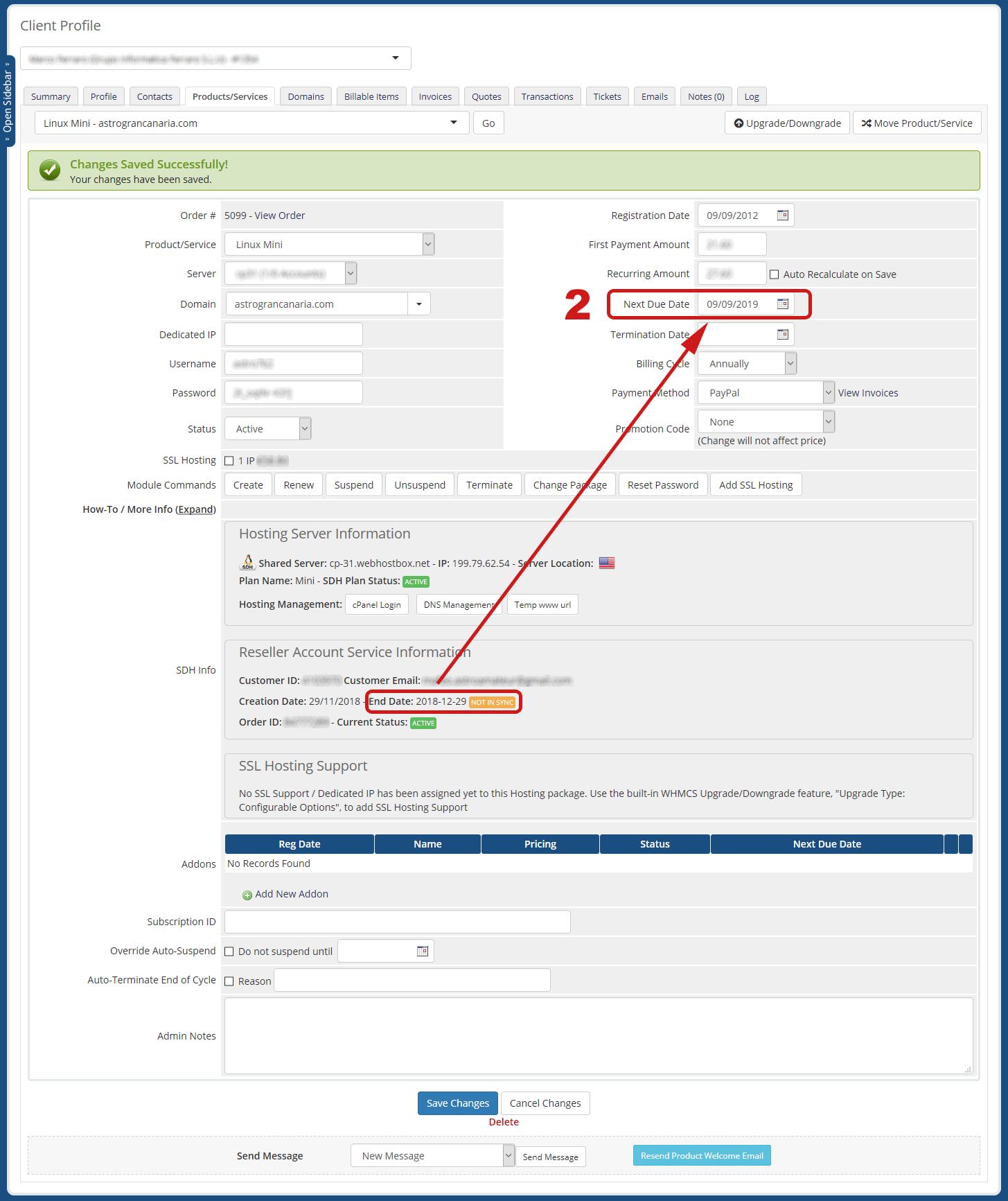 Geo Single Domain Hosting Service