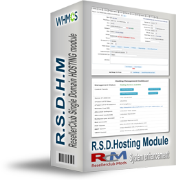 ResellerClub Single Domain Hosting Module