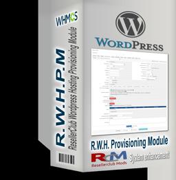 ResellerClub Wordpress Hosting Provisioning Module