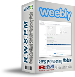 ResellerClub Weebly Provisioning Module